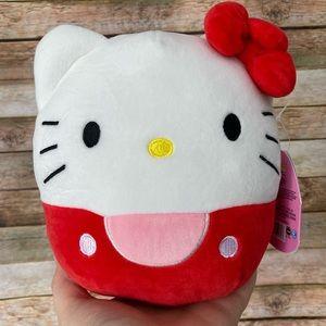 Squishmallow Hello Kitty Red Hello Kitty Plush NEW